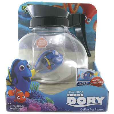 Disney Finding Dory Robo-Fish Coffee Pot Playset NEW