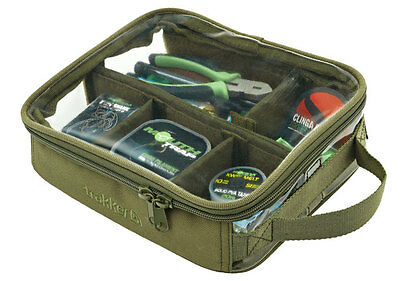 Trakker NEW NXG Luggage Carp Fishing Clear Top Large Bitz Bag - 204937
