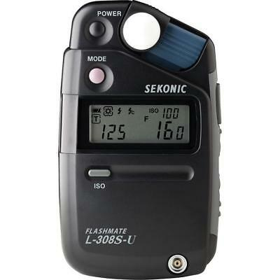 Sekonic L-308S-U Flashmate, Digital Incident, Reflected and Flash Light Meter