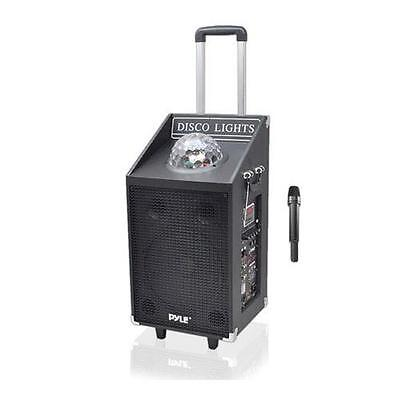 Pyle 600W Bluetooth PA Disco Jam Speaker System with USB/SD Readers #PWMA1594UFM