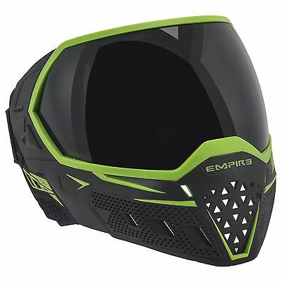 Empire EVS Thermal Mask / Goggle - Black / Lime - Paintball