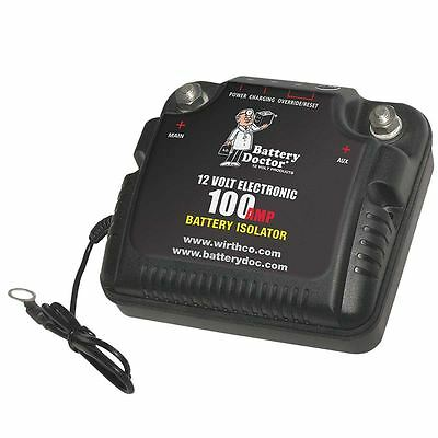 Battery Doctor 20090 12 VOLT Dual BATTERY ISOLATOR Controller 75 Amp - NEW !