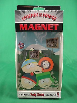 1997 South Park Comedy Central Characters Fridge Magnet NEW