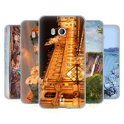 Head Case Designs Famous Landmarks Soft Gel Case For Htc Phones 1
