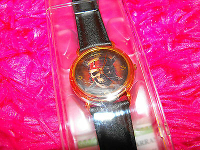 Disneyland Pirates Of The Caribbean Special edition collector's series Watch NIB
