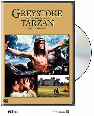 Greystoke The Legend of Tarzan (Christopher Lambert) R4 DVD New