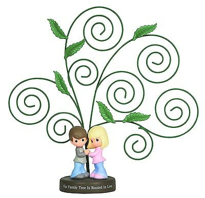 Precious Moments Figural Photo Holder Family Tree Figure Share The Gift Love New