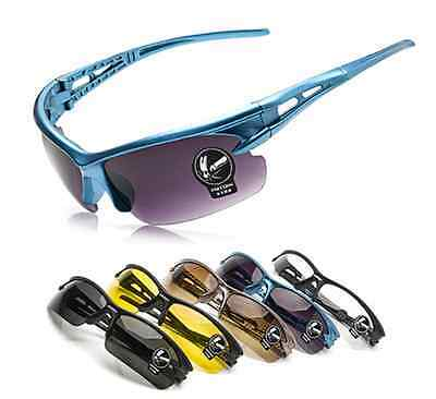 Cycling Riding Running Sports UV Protective Eyewear Glasses Sunglasses 5 Colors