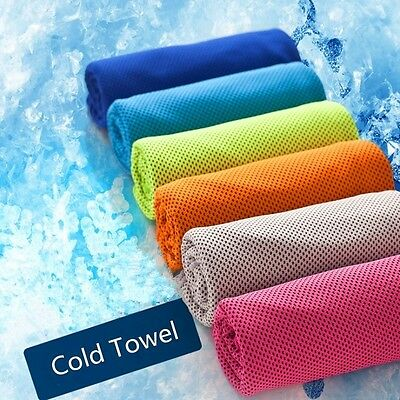 Chilly Pad Sports Cooling Towel Enduring Running Jogging Gym Instant No Bottle