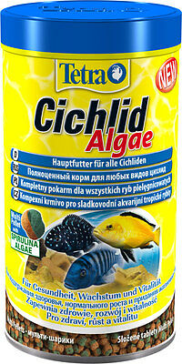 Tetra Cichlid Algae 165g / 500 ml - food for all  Cichlids