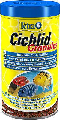 Tetra Cichlid Granules 225/500 ml-food for all Cichlid