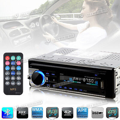New Radio Bluetooth Double 1 Din In Dash Stereo Car MP3/USB/SD/AUX-IN/FM Player