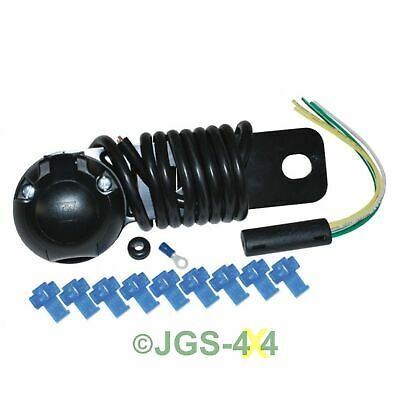 Universal 12N Towing Electrics Socket With Pre Wired 2m Cable - DA1126