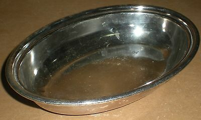 """Canadian Pacific Railway Elkington Plate Cpr Rail At Wiley Ltd 7 X 5"""" Oval Dish"""