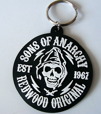 Sons Of Anarchy Keyring Redwood Original Biker Brand New. Soa.official Product