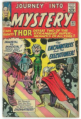 Journey Into Mystery #103 VG 1st Appearance Enchantress and Executioner