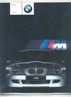 2001 BMW M Roadster M Coupe US Brochure ww1021