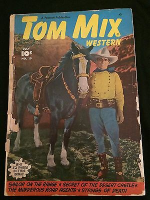 TOM MIX #19 FA Condition