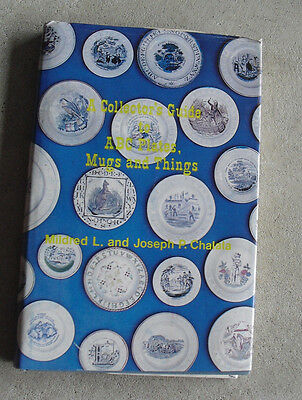 Vintage 1980 Book Collector's Guide to ABC Plates Mugs and Things by Chalala