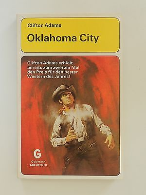 Clifton Adams Oklahoma City Roman Western Goldmann Verlag