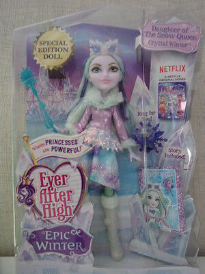 Ever After High - Crystal Winter (Special Edition Doll) Epic Winter - NEU & OVP