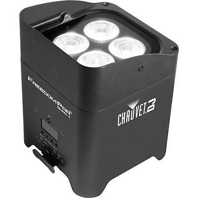 CHAUVET Freedom Par Quad-4 LED Light with Power Cord and IRC6 #FREEDOMPARQUAD4