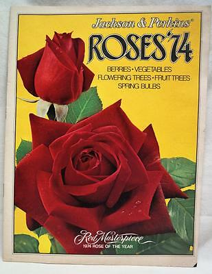 Jackson & Perkins Flower Growers Sales Brochure Catalog Of Roses 1974 Vintage