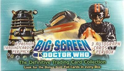 Dr Doctor Who Big Screen Sealed Box Trading Cards - Box #0001 from Strictly Ink