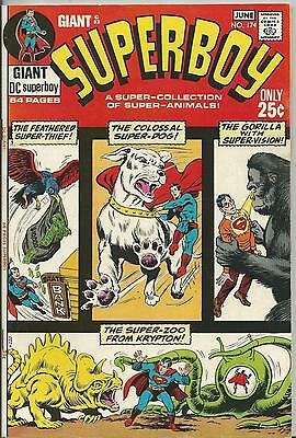 Superboy #174 (Dc) 1St Series - 1971 (Vfn/+ 8.0/8.5) 64 Page Giant