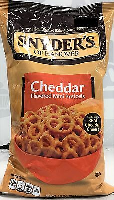 Snyder's Of Hanover Cheddar Flavored Mini Pretzels 10 oz Snyders