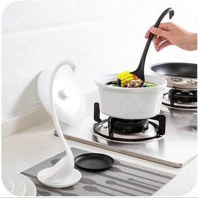 Kitchen PP Elegant Swan Style Ladle And Small Dish Kitchen Cooking Accessories