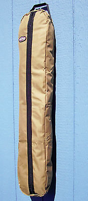 Horse Show Tack Or Fake Tail Extension Zippered Heavy 600D Nylon Bag Carrier