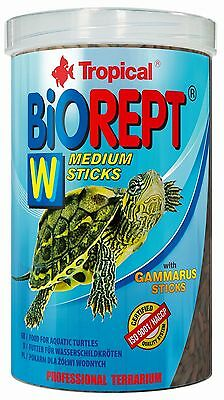 TROPICAL* BIOREPT W*FOOD FOR AQUATIC TURTLES*20g.100,250,500,1000ml