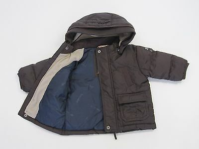 Timberland Baby Boys Fully Lined Hooded Jacket Parka size 6 months Colour Brown