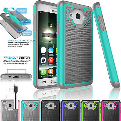 New Slim Shockproof Armor Hybrid Rugged Rubber Case Cover for Samsung Galaxy On5