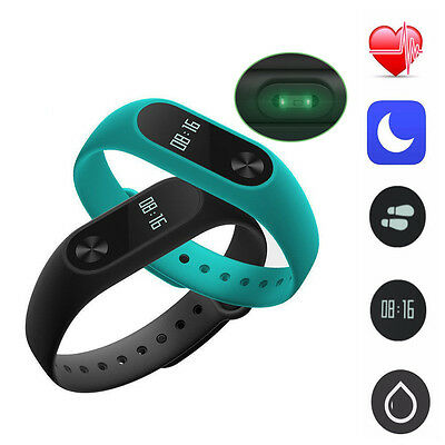 Xiaomi Mi Smart Band 2 OLED Pulse Fascia Cardio Braccialetto Per IOS Android