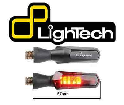 FRE912NER LIGHTECH COPPIA FRECCE LED IN ABS OMOLOGATE  HYOSUNG  Karion RT 125 4v