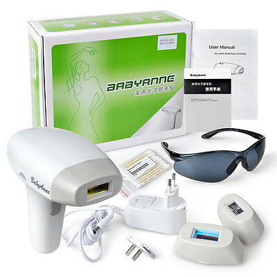 USA 3 in 1 Laser IPL Permanent Hair Removal Machine Face Body + Whiten skin FDA
