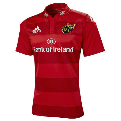 adidas Munster Official European Match Rugby Jersey - All Sizes Available rrp£60