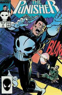 PUNISHER #4 VERY FINE/ NEAR MINT 1987 MARVEL COMICS GROUP 1st MICROCHIP
