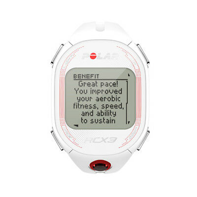 Polar Rcx3 Fitness Running Cycling Triathlon Watch Heart Rate Monitor Gps White