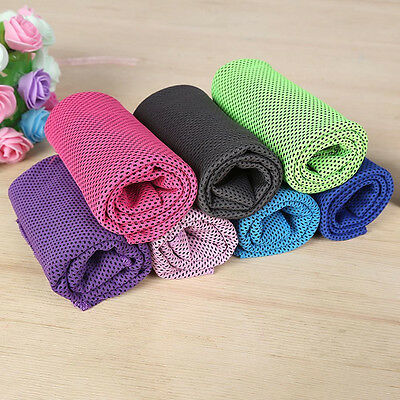 Fashion Ice Cold Enduring Running Jogging Gym Sports Chilly Instant Cool Towel