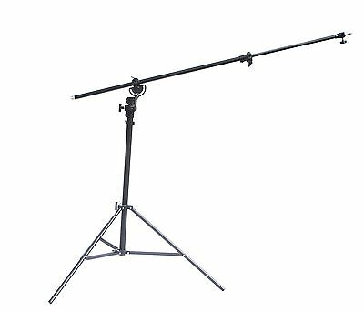 Studio Air Cushioned Overhead Boom Arm Bar Top Light Stand for Flash Softbox