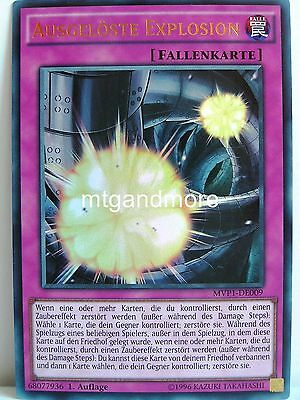 Yu-Gi-Oh - 1x Ausgelöste Explosion - MVP1 - The Darkside of Dimensions Movie Pac