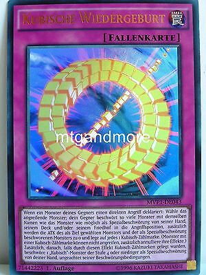 Yu-Gi-Oh - 1x Kubische Wiedergeburt - MVP1 - The Darkside of Dimensions Movie Pa