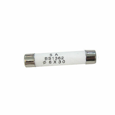 5Pcs 250V 3A F3AL250V 3 amp Fast Blow Acting Quick Ceramic Fuses 6x30mm