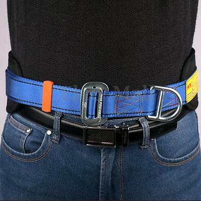 Safety Rock Climbing Fall Protection Waist Belt Harness Equip with 2 D-Ring Gear
