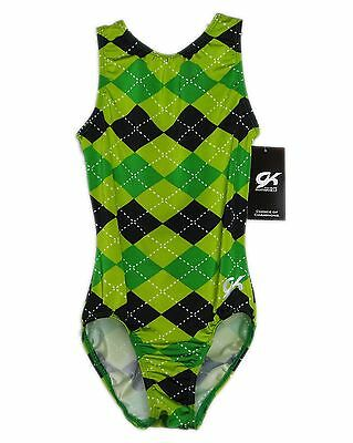 GK Elite Gymnastics Leotard - AXS Adult Extra Small NEW
