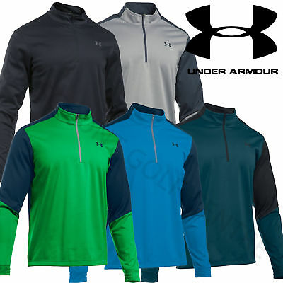Under Armour 16/17 Elements CGI Mens 1/2 Zip Windproof Pullover Sweater-1281272