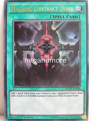 Yu-Gi-Oh - 1x Magical Contract Door - MVP1 - The Darkside of Dimensions Movie Pa